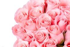 Год сбора винограда букета цветка розы пинка Стоковая Фотография