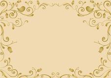 Год сбора винограда золота Стоковая Фотография RF