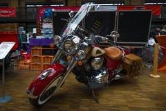 Год сбора винограда индийского вождя мотоцикла стоковая фотография