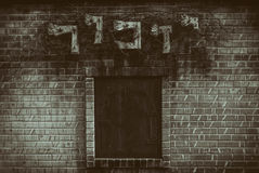 Год сбора винограда Мичигана кладбища мемориальных рабочих классов холокоста Стоковая Фотография