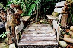 Год сбора винограда моста Стоковое фото RF