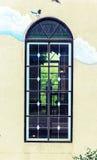 Год сбора винограда окна Стоковая Фотография RF