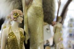 Год сбора винограда - ретро куклы Стоковые Изображения