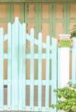 Год сбора винограда, старая загородка дома Стоковое фото RF