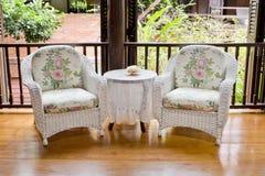 Год сбора винограда стиля мебели кресла Стоковые Фотографии RF