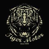 Год сбора винограда тигра Стоковые Изображения RF