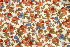 Год сбора винограда цветет ткань Стоковая Фотография RF