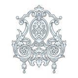 Год сбора винограда элемента дизайна Стоковая Фотография