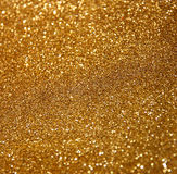 Год сбора винограда яркого блеска освещает предпосылку резюмируйте золото предпосылки defocused стоковое изображение