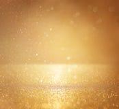 Год сбора винограда яркого блеска освещает предпосылку defocused стоковое фото rf