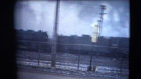 год сбора винограда 8mm - индустрия железной дороги Дулута 60's Стоковая Фотография