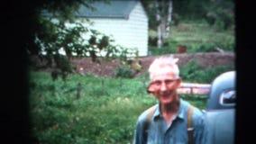год сбора винограда 8mm - люди родины 60's Стоковые Изображения RF