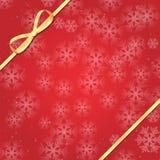 год снежинок рождества предпосылки новый Стоковая Фотография