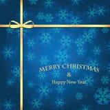 год снежинок рождества предпосылки новый Стоковое Фото