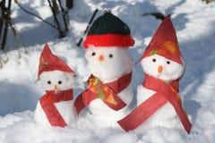 год снежка человека новый s рождества карточки предпосылки стоковое фото rf