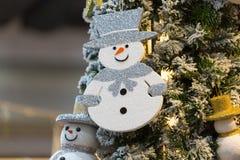 год снежка человека новый s рождества карточки предпосылки Стоковые Фотографии RF
