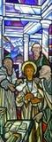 12-Год-Старое Иисус в виске Стоковое Изображение