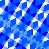 Голубая абстрактная предпосылка сетки - Monochrome иллюстрация вектора