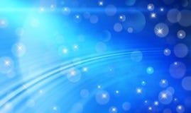 Голубая абстрактная предпосылка иллюстрация вектора