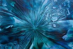 Голубая абстракция Стоковые Изображения RF