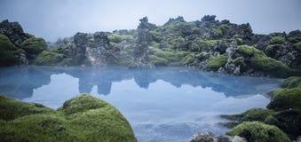 голубая лагуна Стоковое Изображение
