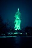 Голубая аура Будды Стоковые Фотографии RF