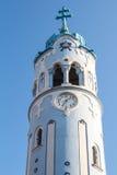 Голубая башня церков, Братислава, Словакия Стоковые Изображения