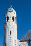Голубая башня церков, Братислава, Словакия Стоковое фото RF