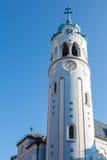 Голубая башня церков, Братислава, Словакия Стоковая Фотография