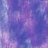 Голубая безшовная акварель предпосылки handmade Стоковые Фотографии RF