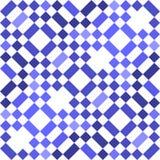 Голубая безшовная геометрическая предпосылка картины иллюстрация штока