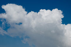 голубая белизна неба облака Стоковая Фотография