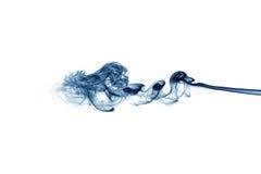голубая белизна дыма Стоковое Изображение RF