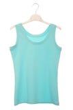 Голубая блузка Стоковые Фото