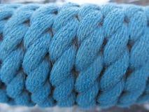 голубая веревочка Стоковые Фотографии RF