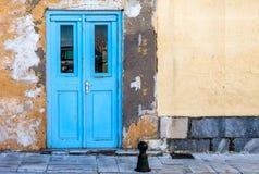 Голубая дверь острова Стоковое Изображение RF