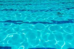 голубая вода пульсации Стоковая Фотография RF