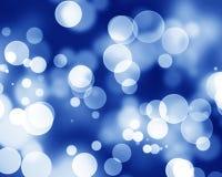 Голубая волоконная оптика иллюстрация вектора