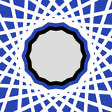 голубая геометрическая картина Стоковое фото RF