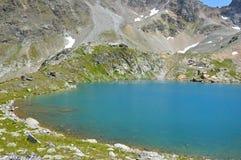 голубая гора озера Стоковое фото RF