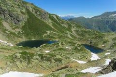 голубая гора озера Стоковая Фотография