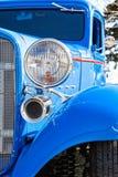 Голубая горячая штанга в вертикальном формате Стоковые Изображения