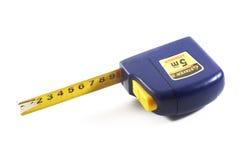 голубая лента измерения Стоковая Фотография RF