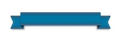 Голубая лента Стоковые Изображения RF