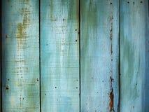 Голубая деревянная предпосылка картины Стоковые Фото