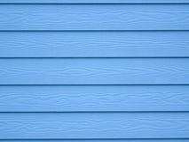 Голубая деревянная предпосылка обоев текстуры Стоковая Фотография RF