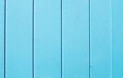 Голубая деревянная предпосылка текстуры Стоковые Изображения