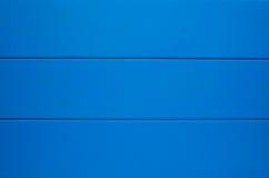Голубая деревянная предпосылка текстуры Стоковое Фото