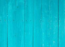 Голубая деревянная предпосылка Стоковое Изображение RF