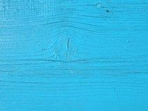 Голубая деревянная планка Стоковое Изображение